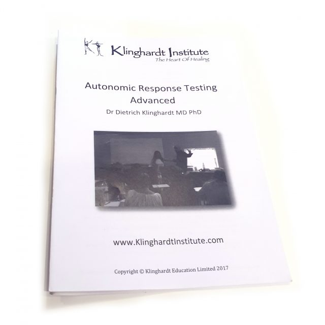 Dr Klinghardt ART Advanced Handbook